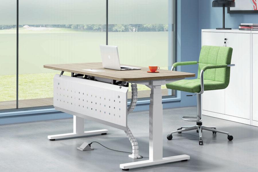 电动升降办公桌_SH-3406_电动升降办公桌定制